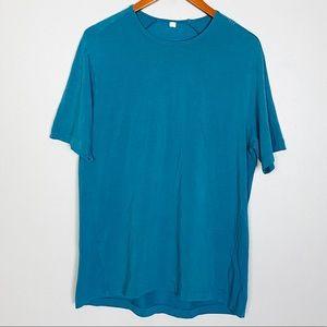 Lululemon Mens Workout Athletic Shirt Tee Sz L